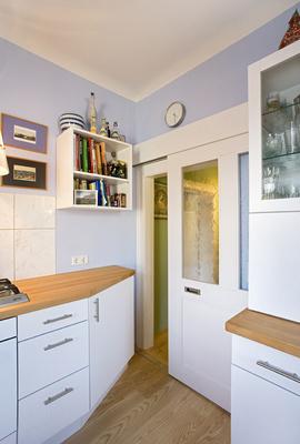 Raumteiler Küche Esszimmer raumteiler zur küche weiß lackierte h28 holzrahmen gleittüre mit